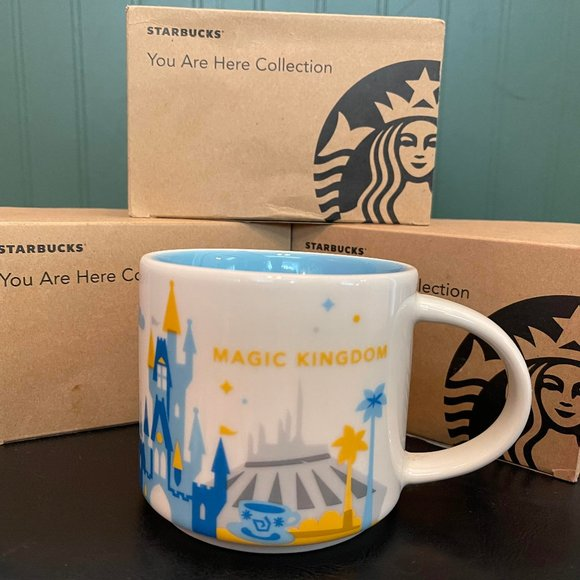 """Starbucks """"You are here Collection"""" MAGIC KINGDOM"""